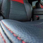 Contrast Stitching Leather Car Seats