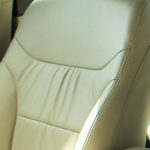 Leather Seats with Pleated Inserts